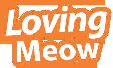 lovingmeow logo orange